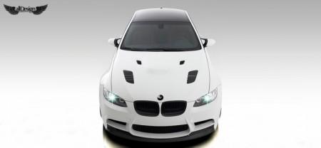 BMW E92 M3 GTS3 Vorsteiner Capot Ventilado Fibra de Carbono