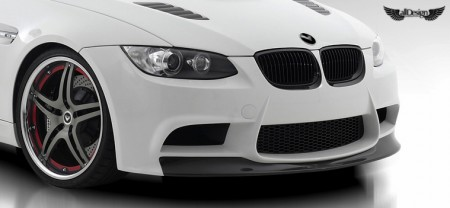 BMW E92 M3 GTS3 Vorsteiner Defensa Delantera Fibra de Carbono