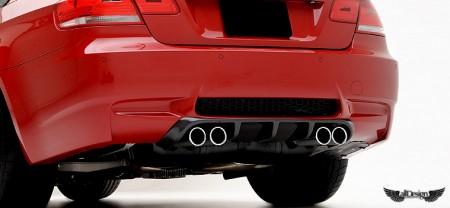 BMW E92 M3 VRS Aero Vorsteiner Difusor Trasero II Fibra de Carbono