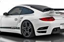Porsche 911 Turbo 997 V-RT Vorsteiner Alerón Trasero en Fibra de Carbono