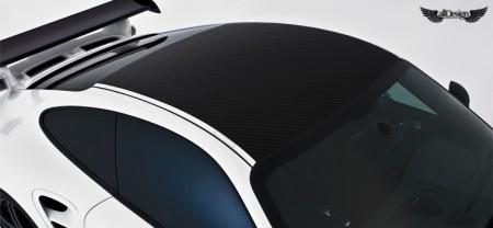 Porsche 911 Turbo 997 V-RT Vorsteiner Techo en Fibra de Carbono