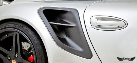 Porsche 911 Turbo 997 V-RT Vorsteiner Tomas de Aire en Fibra de Carbono