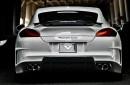 Porsche Panamera Turbo Vorsteiner V-PT Body Kit Carroceria Accesorios Piezas Partes Fibra Carbono Blanco