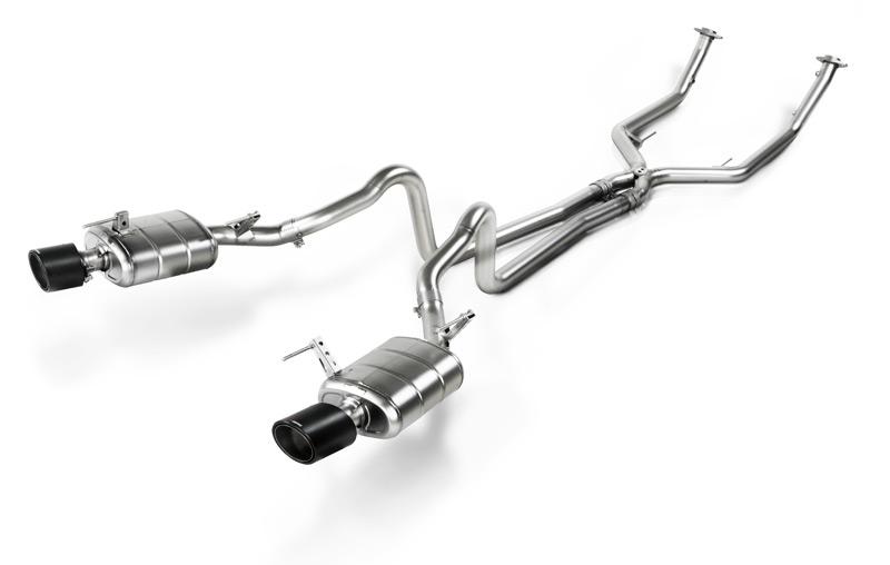 Sistema De Escape Evolution Akrapovic Para Ford Mustang Gt