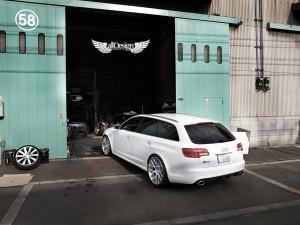 Audi RS6 V10 TFSI C6 Llantas ADV.1 ADV7 Deep Concave