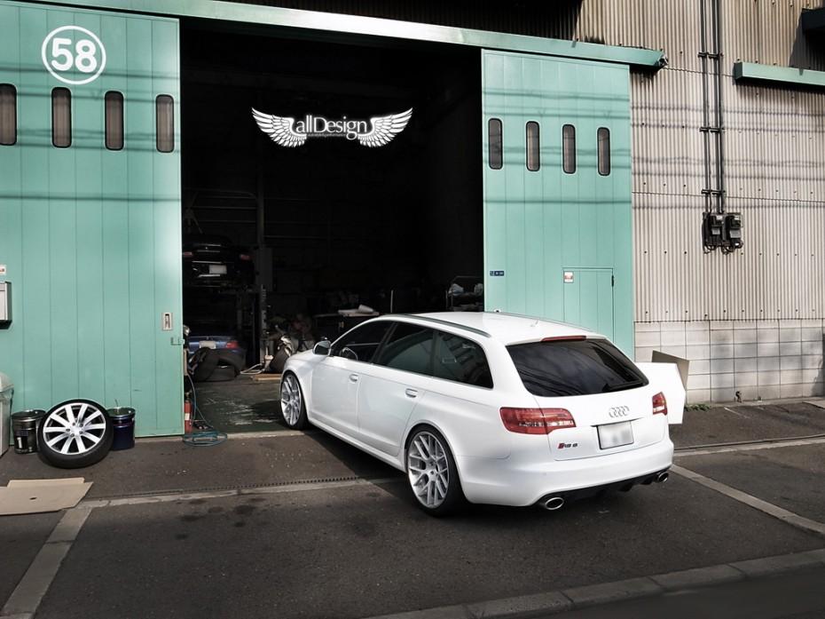 Audi RS6 V10 TFSI C6 + ADV7 Deep Concave