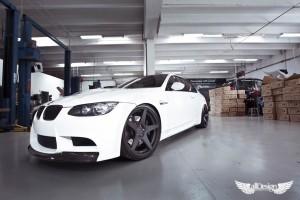 BMW M3 Coupe E92 ADV.1 ADV5.1 Monoblock Vorsteiner Defensa Carbono