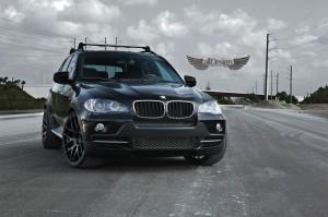 BMW X5 4.8i M Sport E70 Llantas ADV1 ADV7.1 Monoblock Black