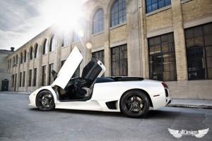 Lamborghini Murcielago Roadster LP640 ADV1 ADV05 Black Deep Concave