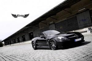 Mercedes SL 65 AMG V12 BiTurbo Wide Body ADV1 ADV10 Deep Concave