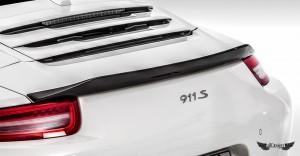 Alerón Trasero V-GT Vorsteiner en Fibra de Carbono para Porsche 911 Carrera 991