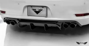 Difusor Trasero V-GT Vorsteiner en Fibra de Carbono para Porsche 911 Carrera 991