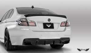 Difusor Trasero V-MS Vorsteiner en Fibra de Carbono para BMW Serie 5 (F10) con Pack M
