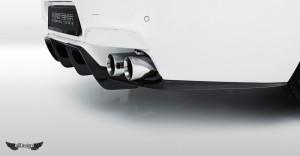 Difusor Trasero Vorsteiner en Fibra de Carbono para BMW M6 Coupe (F12) Cabrio (F13) & Gran Coupe