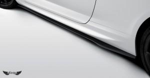 Extension de Taloneras Laterales Vorsteiner en Fibra de Carbono para BMW M6 Coupe (F12) Cabrio (F13) Gran Coupe