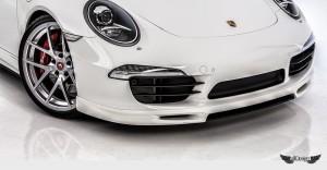 Spoiler con Splitter Delantero V-GT Vorsteiner en Fibra de Carbono para Porsche 911 Carrera 991