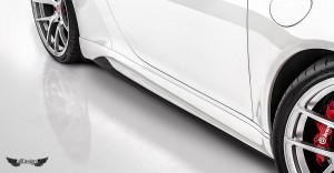 Taloneras Laterales V-GT Vorsteiner en Fibra de Carbono para Porsche 911 Carrera 991