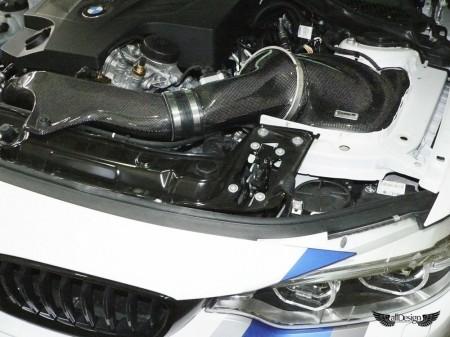 Sistema de Admisión GruppeM en Fibra de Carbono para BMW 435i (F32/F33) & 335i (F30/F31)