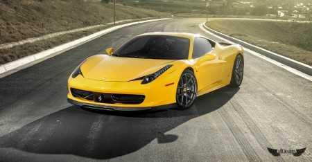 Body Kit de Carrocería Vorsteiner en Fibra de Carbono para Ferrari 458 Italia & Spider