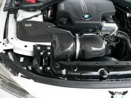Sistema de Admisión Gruppem BMW Serie 3 320i 328i F30 en Fibra de Carbono