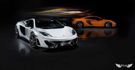 Body Kit MP4-VX para McLaren MP4-12C Coupe & Spyder en Fibra de Carbono Vorsteiner