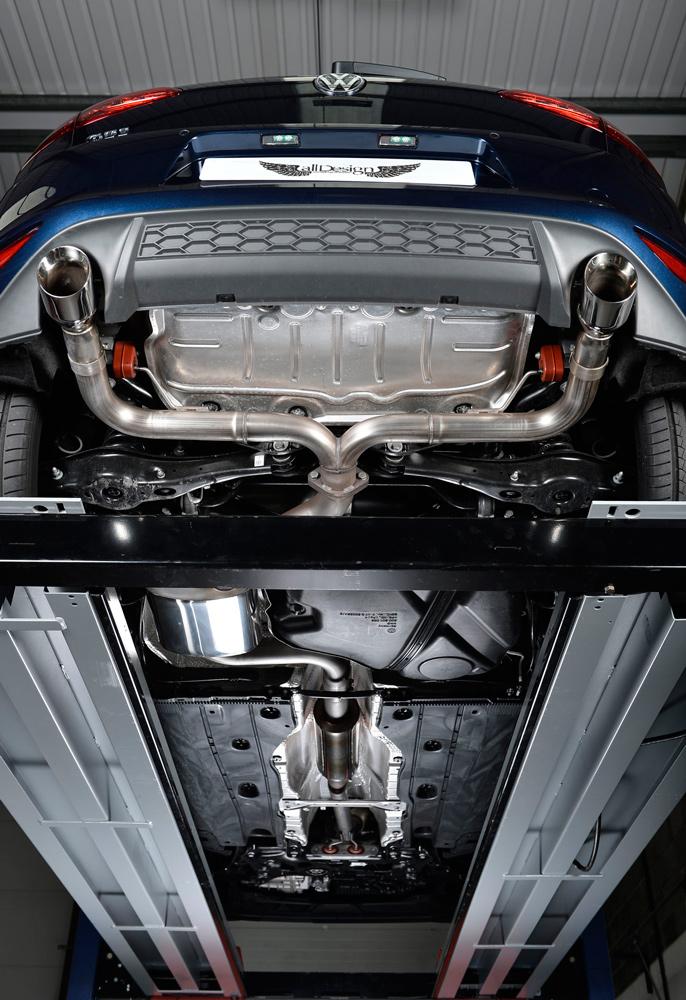 Sistema De Escape Milltek Sport Para Volkswagen Golf Gti
