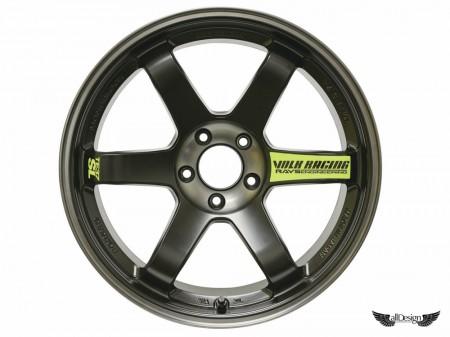 Llantas Volk Racing TE37 SL BLACK EDITION by Rays Engineering