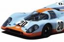 Art Ball Porsche 917 GULF Steve McQueen LM20