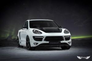 Porsche Cayenne (958) Body Kit TopCar Vantage GTR 2 + Llantas ADV.1 ADV05.1 M.V1 Monoblock