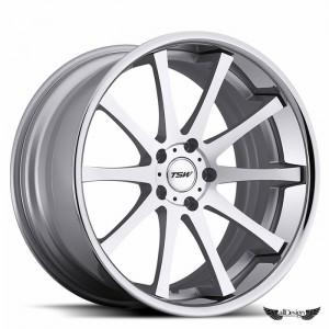 Llantas TSW Jerez Aluminio Cepillado Plata Aro Pulido