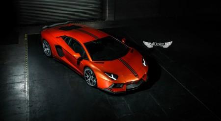 Body Kit Aventador-V para Lamborghini Aventador LP700-4 en Fibra de Carbono Vorsteiner
