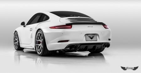 Body Kit V-GT Vorsteiner en Fibra de Carbono para Porsche 911 Carrera (991)