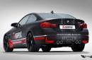 Sistema de Escape Akrapovic Evolution en Titanio para BMW M4 (F82) Coupe