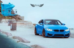 BMW M4 (F82) + Llantas ADV.1 ADV05.1 M.V1 Competition Spec
