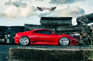Ferrari F430 Novitec Rosso + Llantas ADV.1 ADV5 Track Function