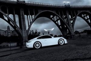 Porsche 911 Carrera (991) + Llantas ADV.1 ADV5.0 M.V2 Competition Spec + Body Kit Vorsteiner V-GT en Fibra de Carbono