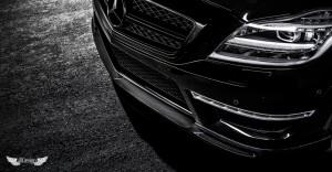 Spoiler Delantero Vorsteiner en Fibra de Carbono para Mercedes CLS 63 AMG