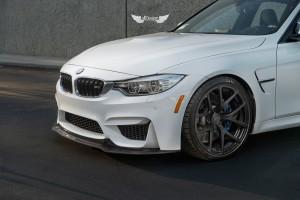 Spoiler Delantero Vorsteiner GTS en Fibra de Carbono para BMW M4 (F82) Coupe