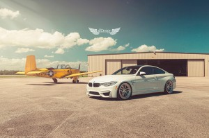 BMW M4 (F82) + Llantas ADV.1 ADV005 Track Spec Competition Spec