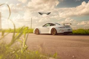 Porsche 911 GT3 (991) + Llantas ADV.1 ADV005 MV.1 Competition Spec