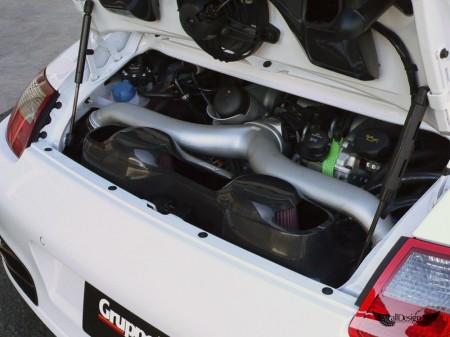 Sistema de Admisión GruppeM en Fibra de Carbono para Porsche 911 Turbo (997)