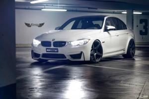 BMW M3 (F80) + Llantas ADV.1 ADV5 M.V1 + Sis. Escape Akrapovic Evolution en Titanio