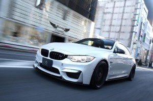 BMW M4 (F82) + Aero Package 3D Design en Fibra de Carbono