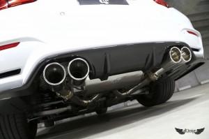 Difusor Trasero 3D Design en Fibra de Carbono para BMW M4 (F82)