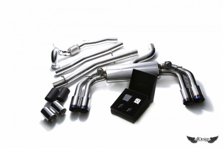 Sistema de Escape Armytrix Valvetronic para Audi S3 (8V)