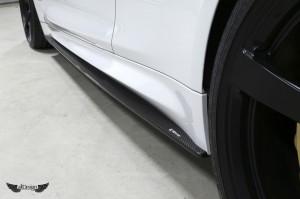 Extensión de Taloneras 3D Design en Fibra de Carbono para BMW M4 (F82)