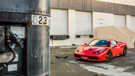Ferrari 458 Speciale + Llantas ADV.1 ADV05 M.V1 CS Series (Competition Spec)