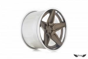 Llantas Forjadas a Medida ADV.1 Wheels Diseño ADV5S Configuración Track Spec Competition Spec