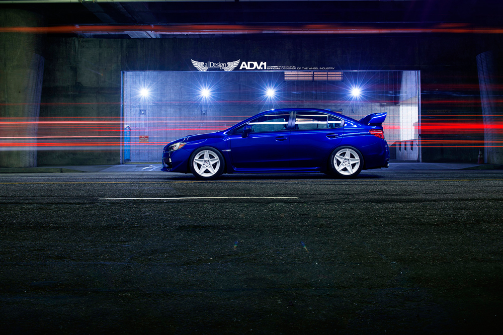 Subaru Impreza WRX STI + Llantas ADV.1 ADV5S M.V2   allDesign