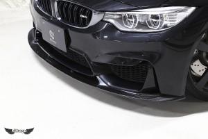 Splitter Delantero 3D Design en Fibra de Carbono para BMW M4 (F82)